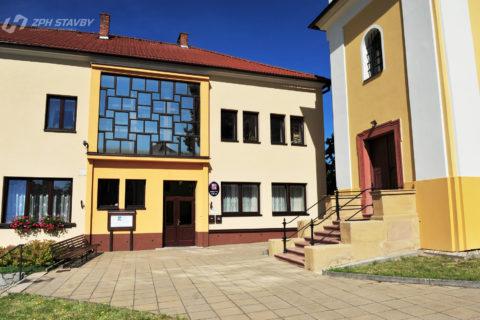 Zateplení OU a Sokolovny, Bedřichov